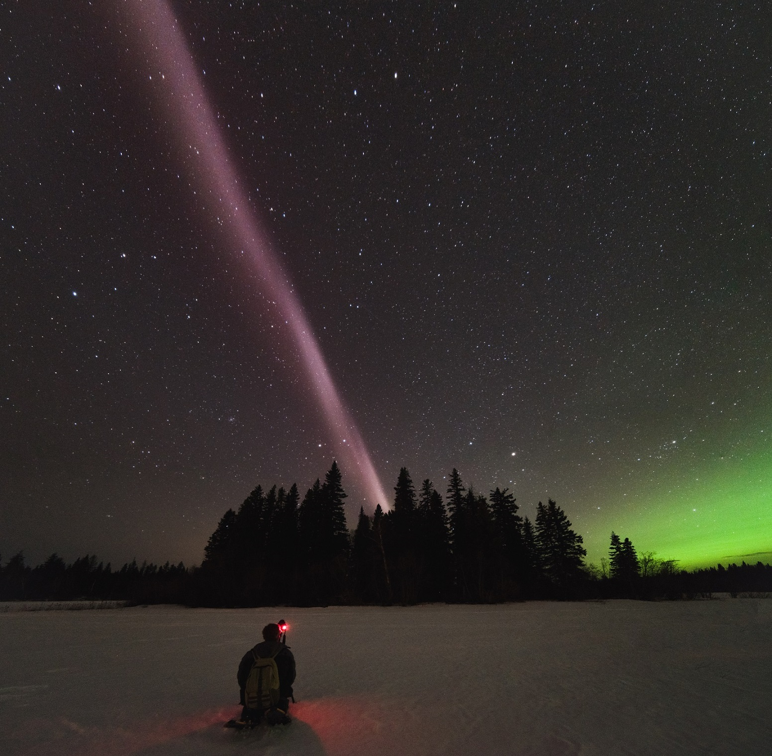 Themis Multipoint Radial Lighting Circuit New Cable Colours Alberta Aurora Chasers Capture Steve The To Science Upper Atmospheric Phenomenon On Evening Of April 10 2018 In Prince George British Columbia